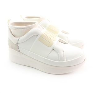 UGG Neutra Coconut White Platform Sneakers 🦄
